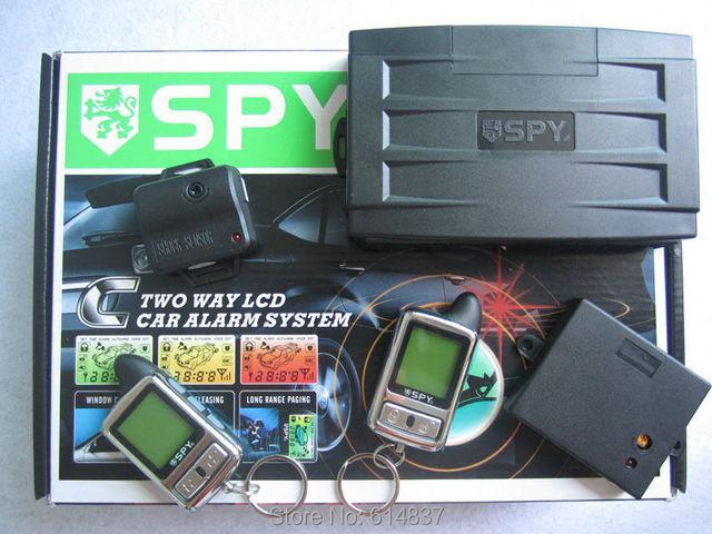 Remote Engine Start Car Alarm  Microwave sensor SPY Two