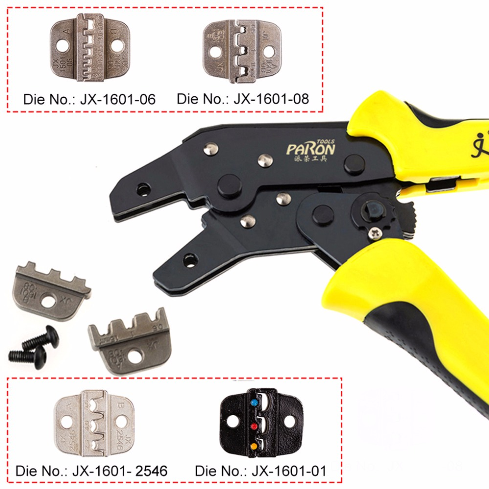 14-10AWG/ 26-16AWG/24-10AWG/24-14AWG  Wire Crimper Engineering Ratchet Cord End Terminals Crimping Pliers