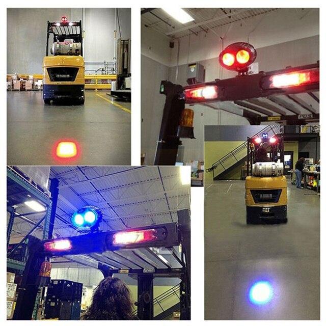 20w Blue Spot Led Forklift Light 12 80v Atv Utv Fork Truck