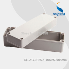 Saipwell Most Popular IP66 waterproof plastic box with lid, waterproof sealed box 80*250*85mm