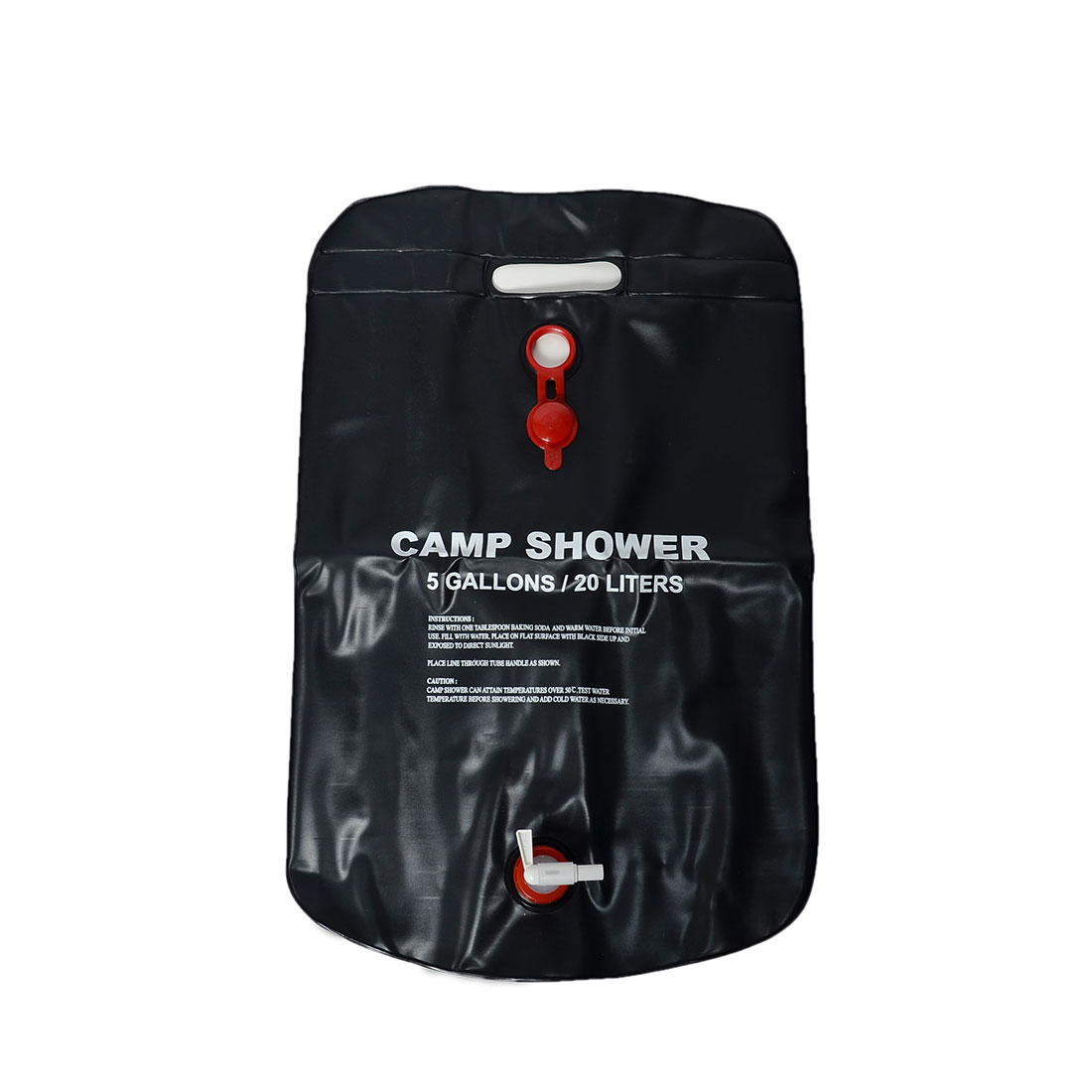 Good Quality Outdoor Travel Hiking Water Bags Backpack 20L Portable Solar Heated Shower Camping Water Bathing Bag