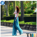 2016 GIFT chiffon pants XXXL  casual loose trousers  plus size pants  high waist  chiffon  wide leg pants