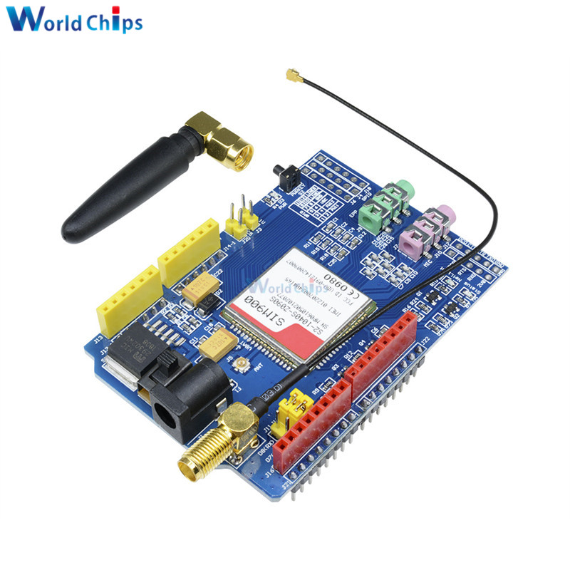 SIM900A 1800//1900 MHz Wireless Extension Module GSM GPRS Board Antenna CF