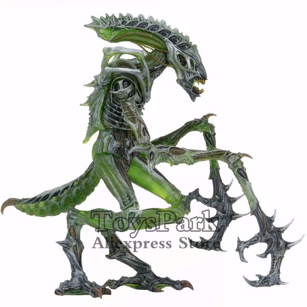"NECA Mantis Alien w Chest Burster 7/"" Action Figure Aliens Collection Series 10"