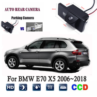 Reverse camera For BMW E70 X5 2006~2018 2008 2009 2012 2015 2016 CCD Night Vision Rear View Camera/license plate camera Backup