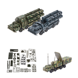 1:72 s-300 missile systems radar vehicle assembled military car model toy
