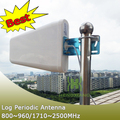 Full Band External Antenna Outdoor Log Periodic Antenna for 2G 3G CDMA GSM DCS PCS W-CDMA Cell Phone Signal Booster Repeater