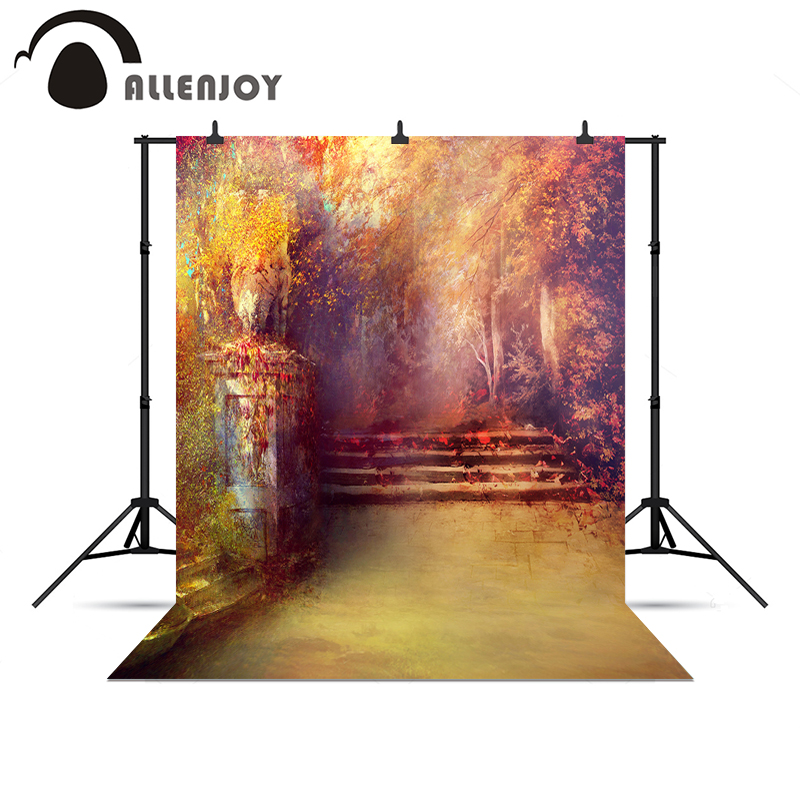 Allenjoy photographic background Gold artistic Wonderland Beautiful Wedding Photophone for a photo shoot a bag