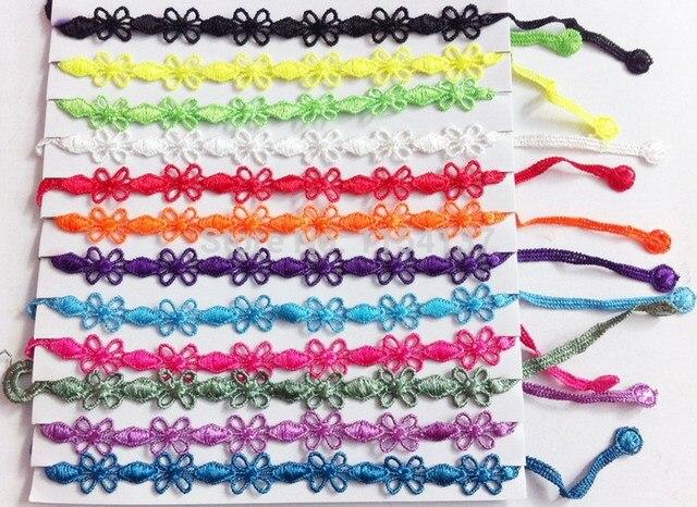 24 unids/bolsa mezcla colores al azar nueva moda Italia ganchillo ...