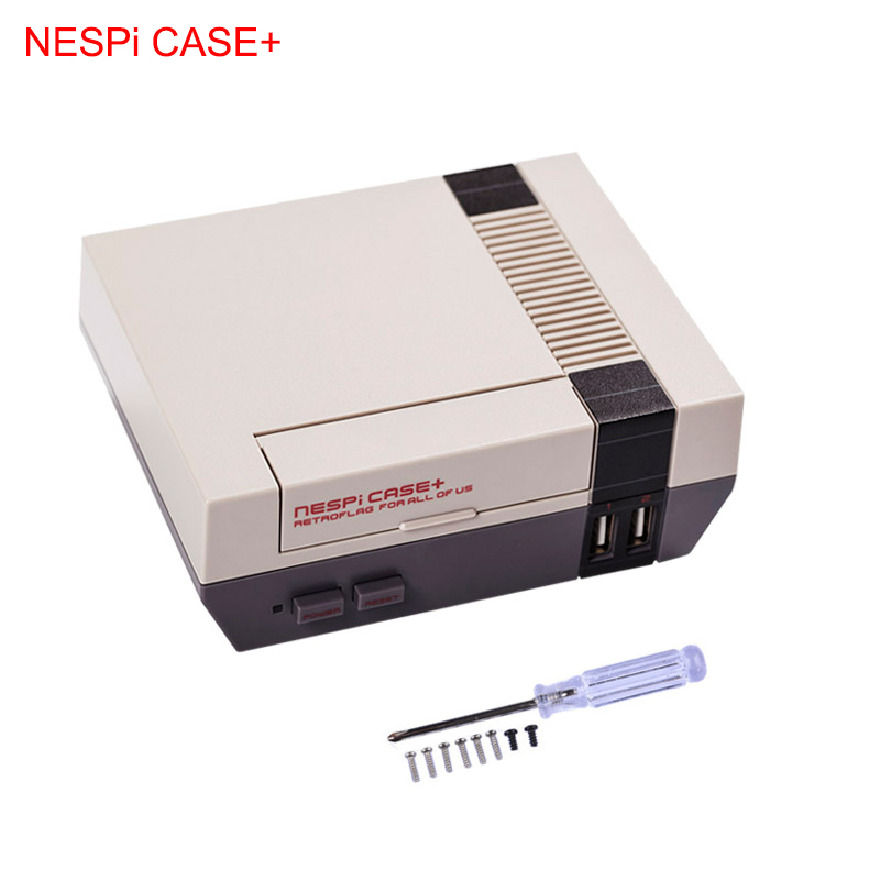 Raspberry Pi 3 Model B+ NESPi CASE+ Retroflag Box for Raspberry Pi Plastic Classical NES Style Portable DIY Kit for Retropie zwilling j a henckels кухонные многофункциональные ножницы twin select 41470 000 zwilling j a henckels