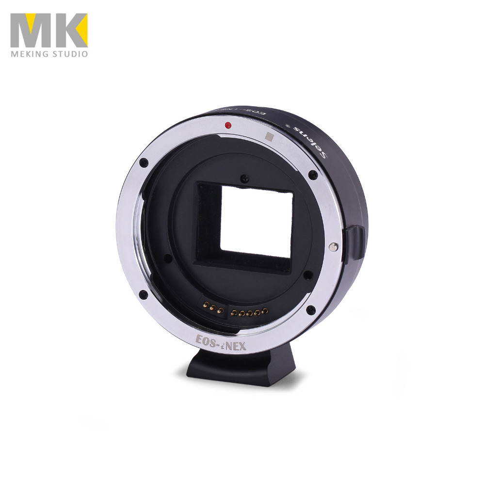 Selens Camera metal For EOS-NEX Ring mount lens adapter ring metal support AV/m for Sony NEX-7 NEX-6L NEX-5T NEX-5N NEX-5 lens adapter ring suit for hasselblad to sony nex for 5t 3n nex 6 5r f3 nex 7 vg900 vg30 ea50 fs700 a7 a7s a7r a7ii a5100 a6000