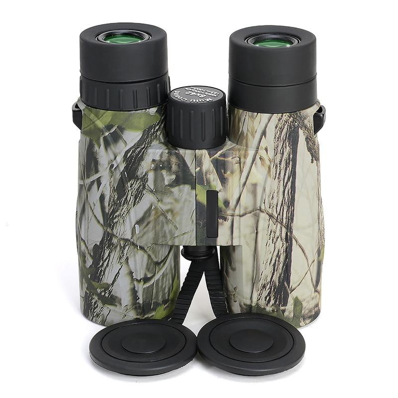 Powerful 8x42 Binoculars HD Waterproof Lll Night Vision Wide Angle Binocular High Times Outdoor Camping Hiking Hunting Telescope