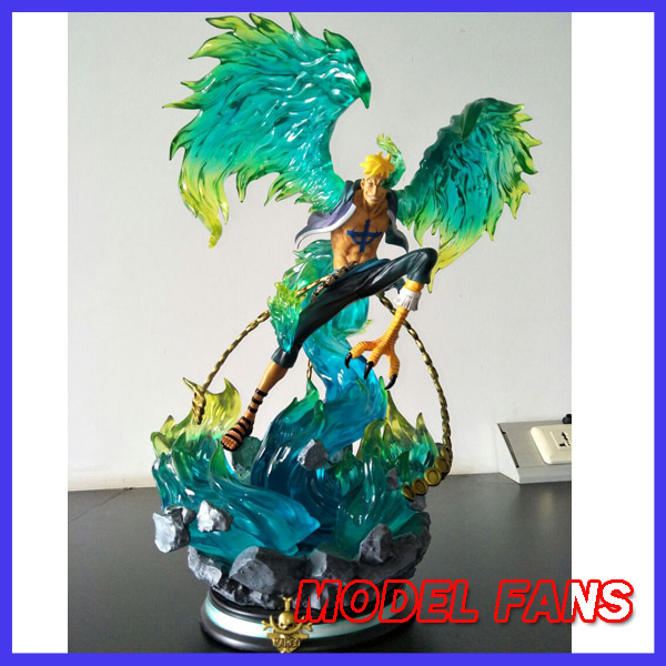 MODEL FANS instock one piece copy  41cm Marco Battle Stance gk resin statue Figure for Collection model fans jacksdo one piece 30cm boa hancock battle stance gk resin toy figure for collection