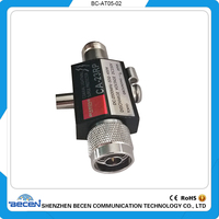400W Coaxial Lightning Arrester Surge Protector Radio Connector Adapter Repeater Coaxial Lightning Antenna Surge 3GHZ