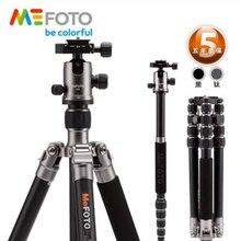 MeFOTO A2350Q2 GlobeTrotter Алюминиевый Профессиональный Штатив Комплект Портативный Цифровой Видеокамеры Штатив Со Стабильной Шаровой Головкой Для DSLR