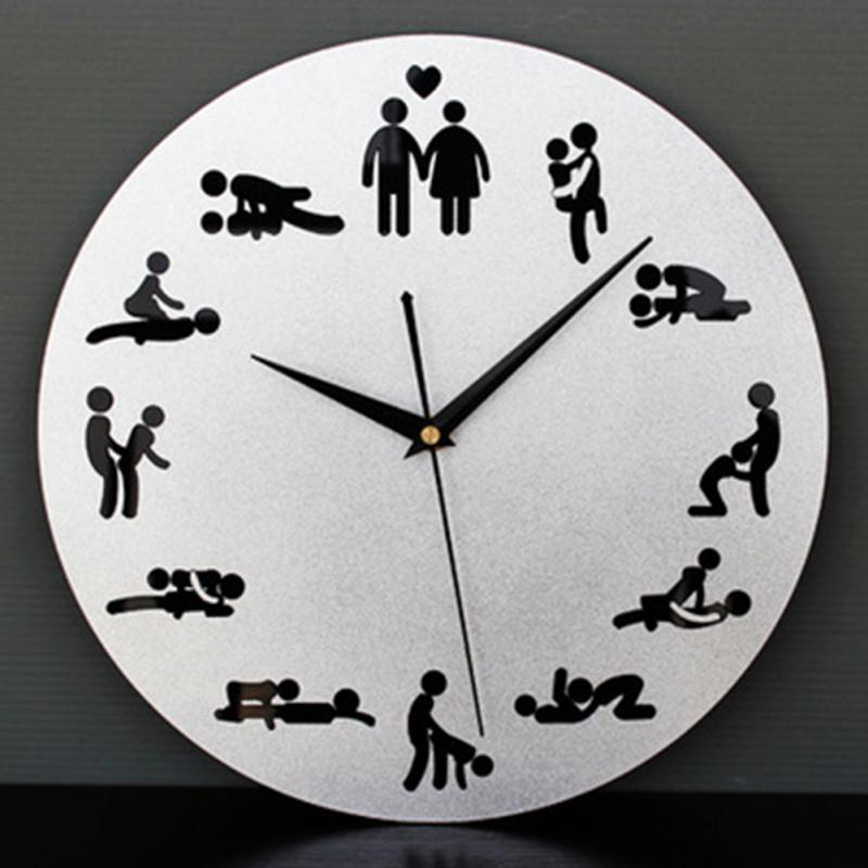 4538d840620 1 Peças Kama Sutra Sex Position Relógio 24 Horas Sexo Relógio Novidade  Relógio de Parede em Relógios de parede de Home   Garden no AliExpress.com