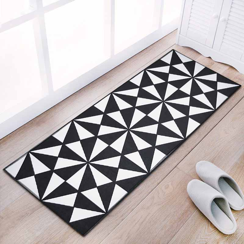 Washable Kitchen Mats with Anti Slip Bottom for Kitchen and Hallway Entrance Floor 16
