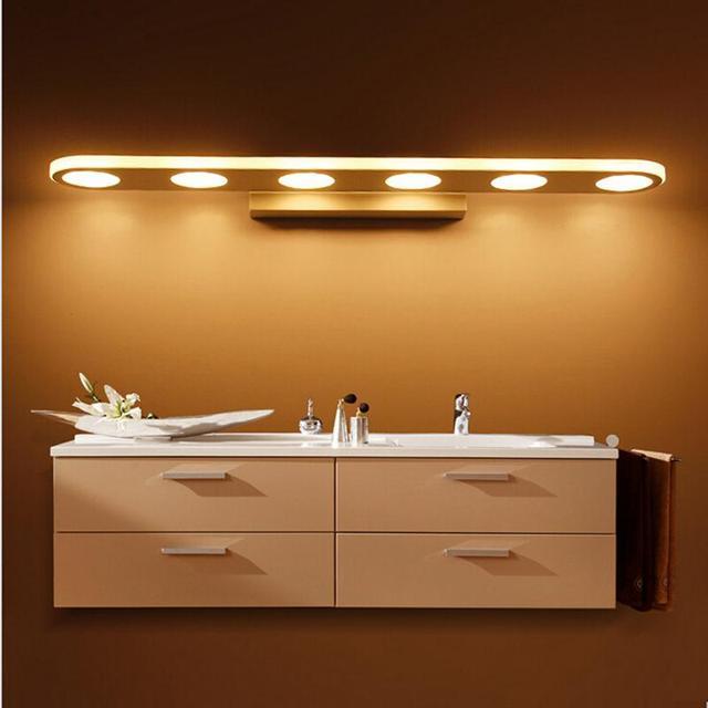 47CM 15W Led Mirror Lights Modern Wall Lamps Bathroom Dress Room Make Up Light