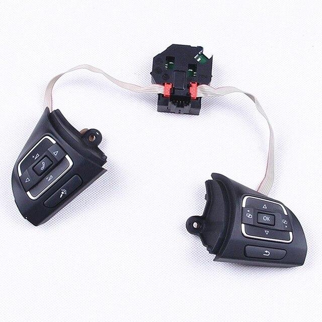 TUKE OEM MF Volant Boutons Switch & Module Fit VW Golf Jetta MK6 Tiguan EOS CC Caddy 5K0 959 542 B 5C0 959 537 5C0 959 538