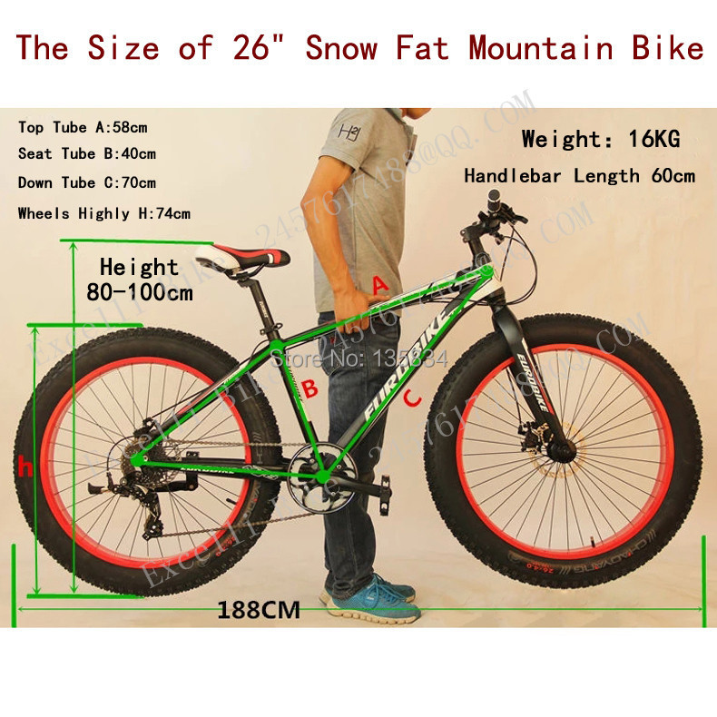 b01- 7 Speed Bicicleta Montanha 26 4 Inch Widen Tire Mountain Bicicletas Terrain Bicicleta Snow Bicycle Fat Bike.jpg