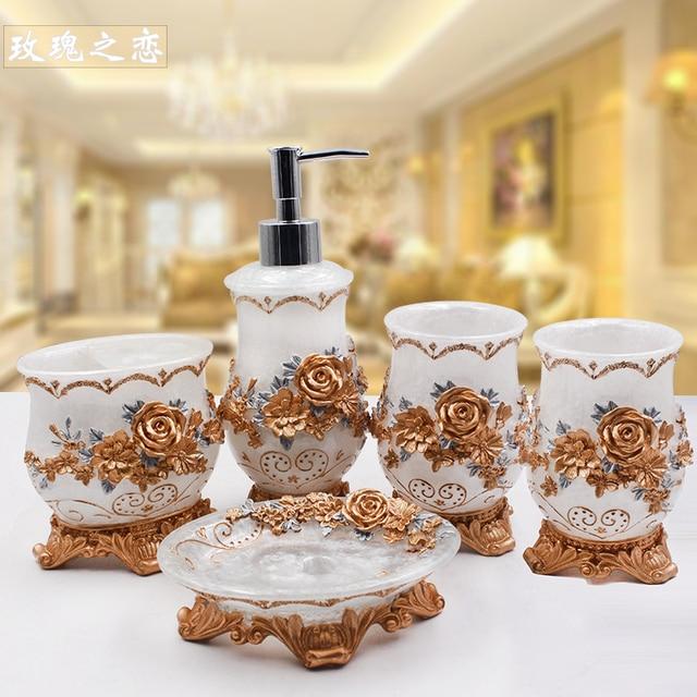 Royale Resin Bathroom Set 4