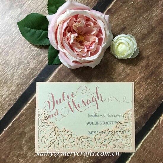 pche laser de mariage de coupe poches cartes dinvitation invitations de mariage arabe - Carte D Invitation Mariage En Arabe