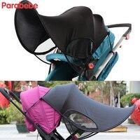 fff4273ddca Anti UV Lyca Fabric Baby Stroller Sunshade Canopy Cover For Babyzen YOYO  YOYA YUYU Umbrella Strollers