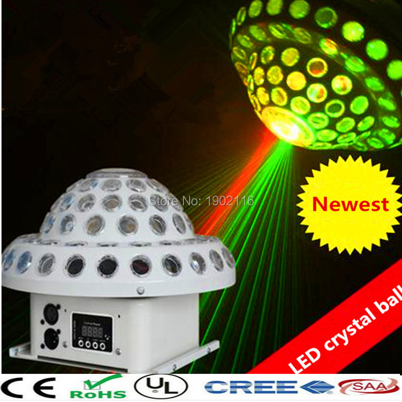 Free shipping LED Crystal Magic Ball Effect Light Disco ball DJ Stage Party laser led professional ktv lights cheap led lamps 7 inch love charm a76 a77 still in iraq n77 9 inch lcd display neiping innolux 20000938 30