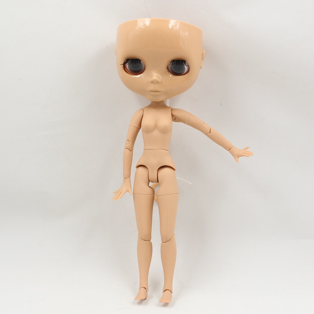 Neo Blythe Doll Without Scalp Dome Jointed Body 2