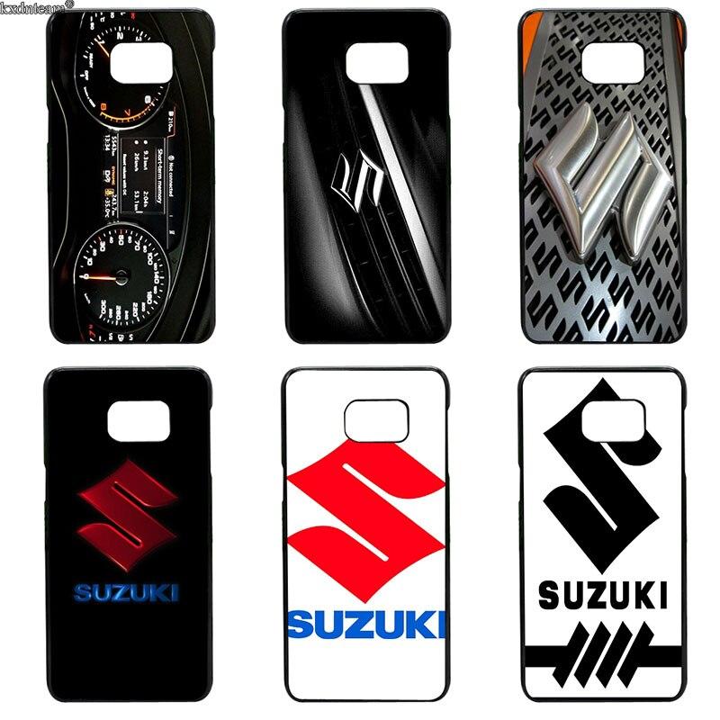 Горячая Suzuki Gsx R Логотип сотовый телефон случаях Жесткий PC Обложка для samsung Galaxy S8 S9 плюс S2 S3 S4 s5 мини S7 S6 Edge Plus активный Shell