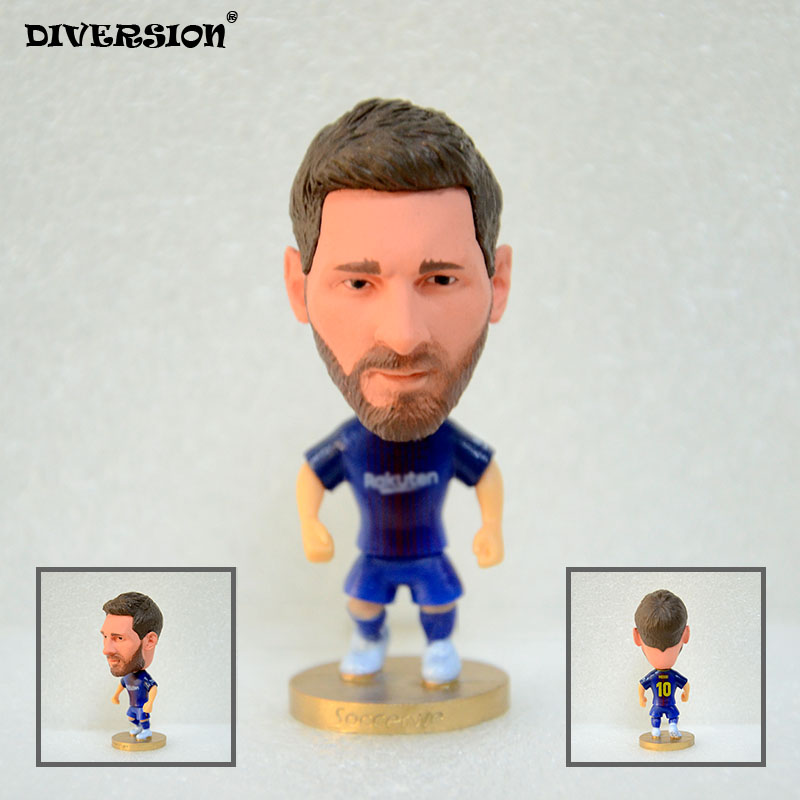 Soccer Lionel Mes** (B) 2.5″ Toy Doll Figure 2017-2018 season Best Gift to you soccerwe