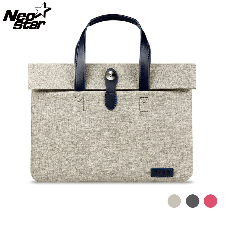 Fashion Waterproof Sleeve Laptop Bag Case 13 15 For Macbook For Lenovo Notebook Mouse Tablet Carry Pouch Cover Women Handlebag