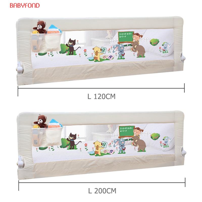 Us 9928 32 Off2 Sztuk Dziecko Ogrodzenia łóżko Poręczy łóżeczko Dziecięce Guardrail Poręcze łóżka łóżko Bufor Typu Ogólne 150cm 120cm I 180cm Do