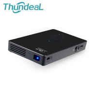 ThundeaL X1 DLP Mini Projector Android 4 4 Quad Core WIFI 5 8Ghz Touch Panel Pico