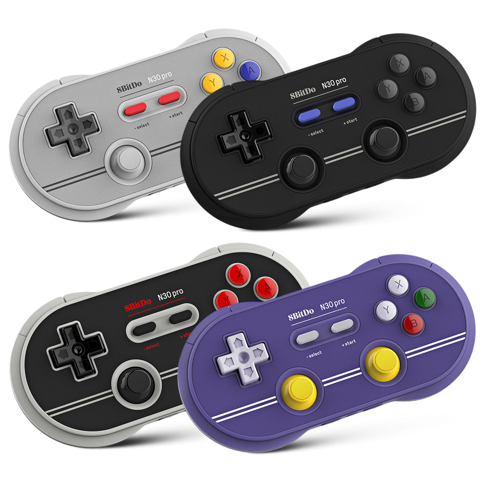 Generic 8Bitdo N30 Pro 2 Wireless Bluetooth USB Controller