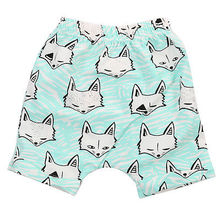 Infant Kids Baby Boys Girls Cartoon Summer Bottoms Shorts Hot Pants Shorts Casual 0-5Y