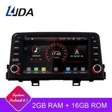 LJDA Android 9,1 DVD плеер автомобиля для KIA Picanto Morning 2017 2018 gps навигации 1 Дин радио wi-fi-мультимедиа стерео ips RDS
