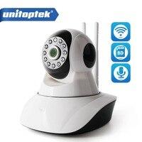 2MP HD 1080P PTZ Wifi IP Camera IR-Cut Night Vision Two Way Audio CCTV Surveillance Smart Camera SD Card View XMEye UNITOPTEK