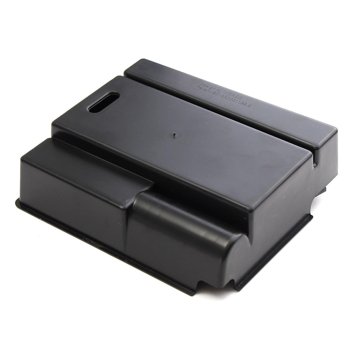 Центральный автомобильный подлокотник для хранения ящик для перчаток контейнер для HYUNDAI IX35 2010-2015 авто аксессуары с ковриком