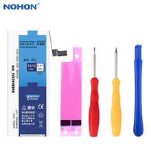 (For iPhone 6) 100% NOHON 1810mAh High Quality New Phone Battery For iPhone 6 Built-In Replacement Batteries + Machine Tools