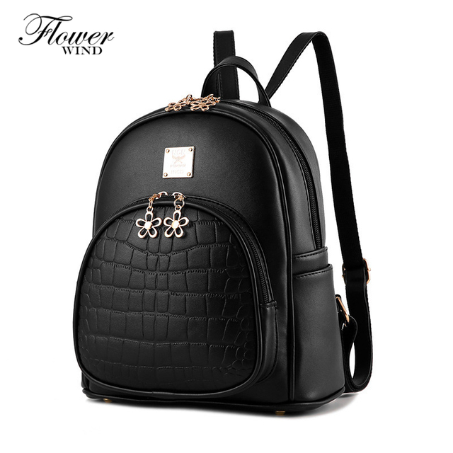 dd4723dd125 2017 New Snake PU Leather Women Backpack Female Fashion Rucksack Brand  Designer Ladies Back Bag High Quality School Bag