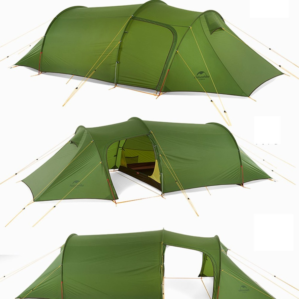 Ultralight Tunnel Tent 3 Persons Camping  3 Season