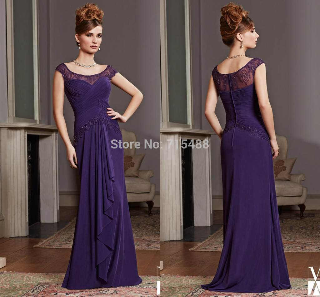 Custom Made In China Ebay Cap Sleeve Evening Gowns Beach Wedding ...