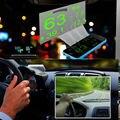 Pantalla LED Car HUD Head Up la Advertencia de Exceso de Combustible OBD II Ventana película Reflexiva