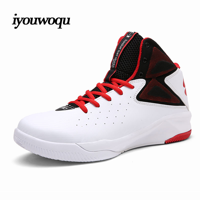 ФОТО 2017 New design Men's Basketball shoes Large size outdoor sports shoes Professional high-quality basketball shoes for men shoes