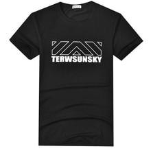 Free Shipping-HOT SALE Terwsunsky Summer Men Outdoor Gym Sport Short-sleeve Cotton T-shirts TD067