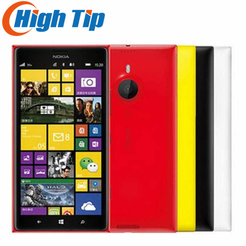 Original Entsperrt Nokia Lumia 1520 handy 20.0MP 6,0 inch TouchScreen Quad-Core 32 GB Windows OS Renoviert Kostenloser Versand