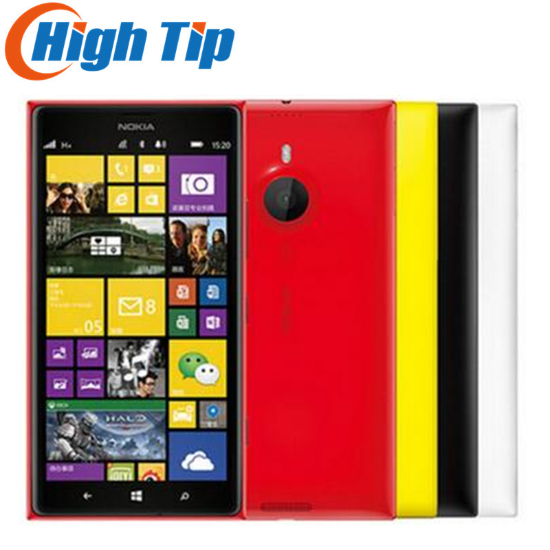 Débloqué Original Nokia Lumia 1520 mobile Téléphone 20.0MP 6.0 pouce Écran Tactile Quad Core 32 gb Windows OS Rénové Livraison Gratuite