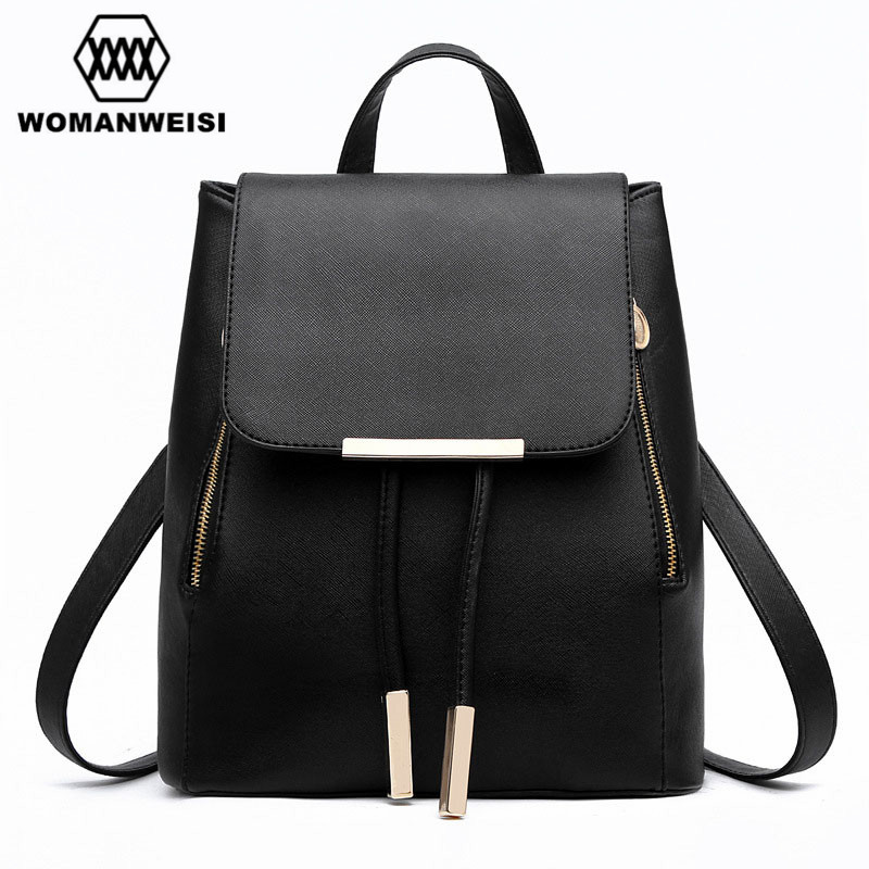 Candy Jelly Color Lovely Women Backpacks Fresh Tassel PU Leather School Bags Drawstring Flap Sack Field Pack 9 Colors Choose