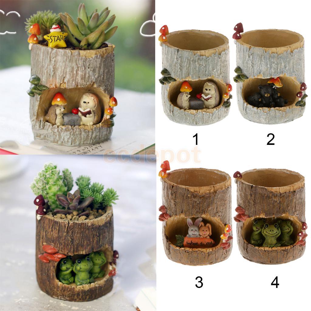 Милый декоративный цветочный горшок для суккулентов, горшок для растений бонсай, короб для растений|plant troughs|pot plantersucculents pots | АлиЭкспресс